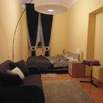 habitación con cama matrimonio (apartamento)