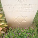 The one Jewish soldier buried there