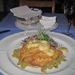 Dinner at Hotle Weisses Kreuz