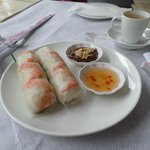 Summer Rolls.(Prawn and other options)
