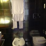 Идеально чистые полотенца, отличная душевая.