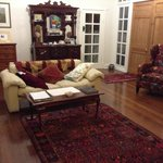 The comfy sitting room