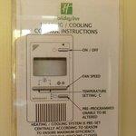 Heating control notice
