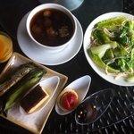 Local delicacies + dessert and fresh greens at Five Sen5es, Westin KL