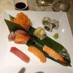 Sushi e Sashimi misto 12 pezzi