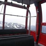 Internal shot of gondola