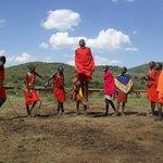 Cultural trip to Masai village