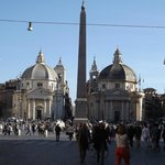 Piazza del Popolo - Salt and Pepper Churches
