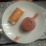 Mousse chocolatée, menthe et croquant chantilly