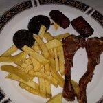 Mixto de carne a la brasa - Menú Casa Teo (Zaragoza)