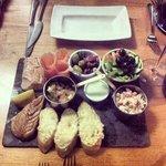 Fish platter sharing starter