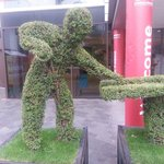 Great hedge-cutting!