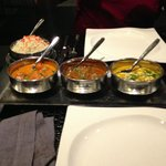three curries