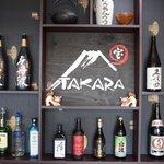 Wide range of sake