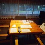 リビングのテーブル