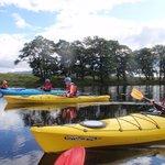 kayak Touring River Spey