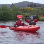 Kayak Touring down the river Spey 1-5 day trips.
