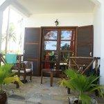 Our room - balcony/varanda