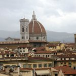 The Duomo from the terrace