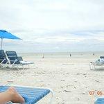 pretty, spacious beach