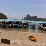 Phi phi dirty beach