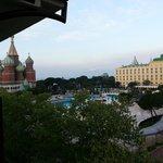Balkonsicht zum Schwesterhotel WOW Kremlin