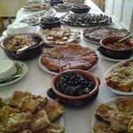 Buffet d'antipasti il giorno di Pasquetta