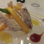 dessert with Mango, my favourite !