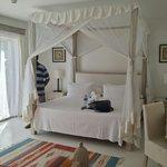 The bedroom. .....