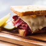 The Reuben with House Smoked Pastrami