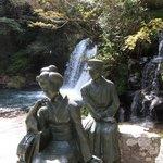 「踊子と私」の像がある初景滝