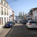 Vista de la Calle Nueva, Alange