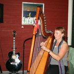 Harpist Gayle Tapper ~ Sunday & Wednesday evenings from 7 to 9 pm . . . FREE