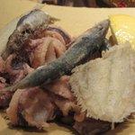 Frittierter Fisch