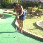 "La esposa en "" Golf"""
