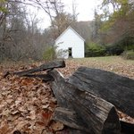 Cataloochee Valley schoolhouse