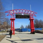 Navy Pier Entrance, photo by Mike Keenan