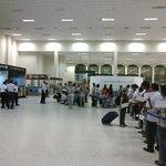 im waiting in the katunayake airport.well come to sri lanka