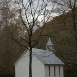 Church in Cataloochee Valley
