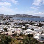 Θέα από το Ξενοδοχείο Δαμιανός