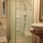 """Beethoven"" Bathroom- nice shower!"