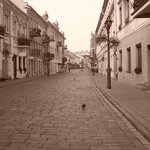 old town sepia