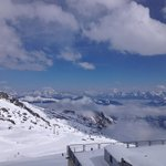 Aussicht am Kitzsteinhorn
