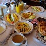 petit déjeuner, un vrai délice