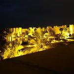la vue de notre terrasse la nuit