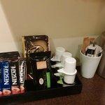 Tea/coffee facilities provided
