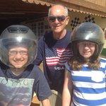 Having fun Go Karting - April 2014