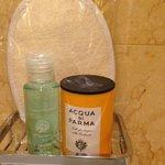 bathroom products Acqua Di Parma!