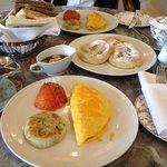 breakfast at Seasons Tea Lounge