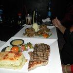 Food at the Little Buddha in Nama Bay